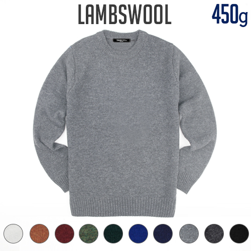 TRMARK LAMBSWOOL BASIC KNIT 10 COLORS