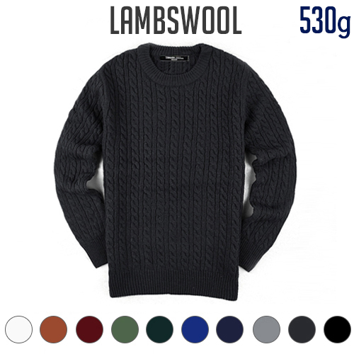 TRMARK LAMBSWOOL TWIST KNIT 10 COLORS