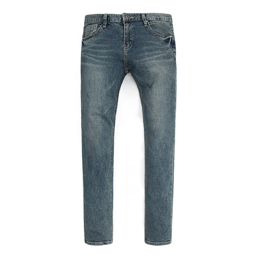 TRMARK VINTAGE SLIM WASHED DENIM V-BLUE