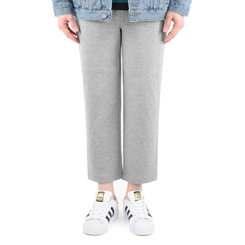 TRMARK 9CUT WIDE SWEAT PANTS GRAY