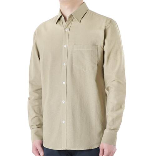 TRMARK PL_001 COTTON SHIRT BEIGE