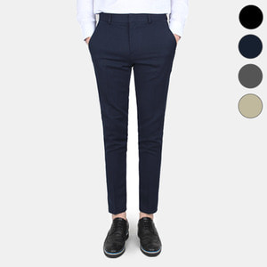 TRMARK MASTER FIT 9CUT SLACKS NAVY