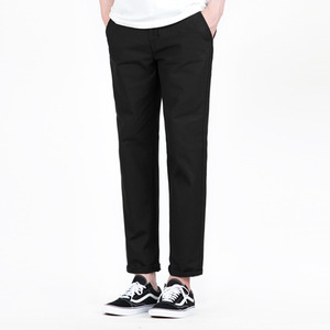 TRMARK COTTON BANDING PANTS BLACK