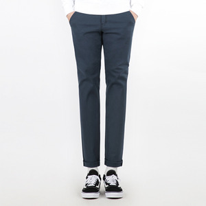 TRMARK COTTON PLAIN TENDER PANTS NAVY