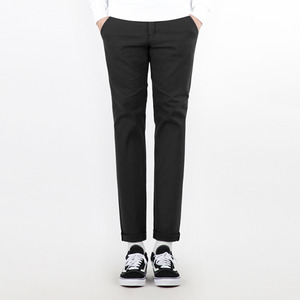 TRMARK COTTON PLAIN TENDER PANTS BLACK