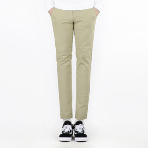 TRMARK COTTON PLAIN TENDER PANTS BEIGE