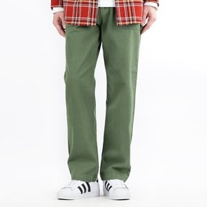 TRMARK STRAIGHT COTTON FATIGUE PANTS GREEN