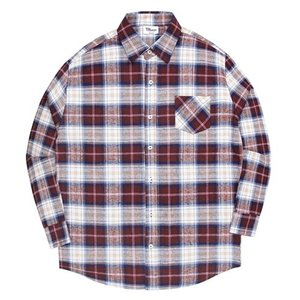 TRMARK NP_001 SCOTS CHECK SHIRT BROWN