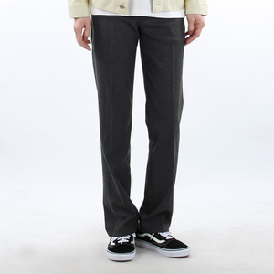 TRMARK STANDARD WIDE SLACKS CHARCOAL