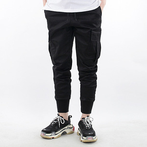 TRMARK HIGH BANDING JOGGER BLACK