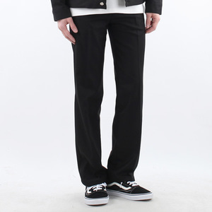 TRMARK STANDARD WIDE SLACKS BLACK