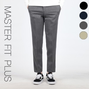 TRMARK MASTER FIT SLACKS PLUS GRAY