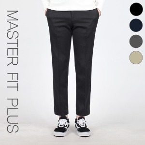 TRMARK MASTER FIT SLACKS PLUS BLACK