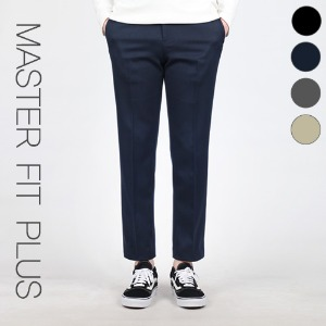 TRMARK MASTER FIT SLACKS PLUS NAVY
