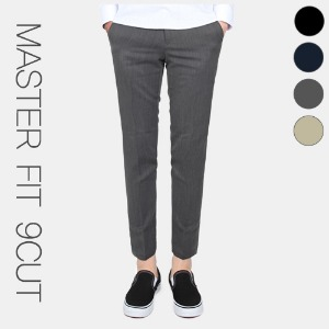 TRMARK MASTER FIT 9CUT SLACKS GRAY
